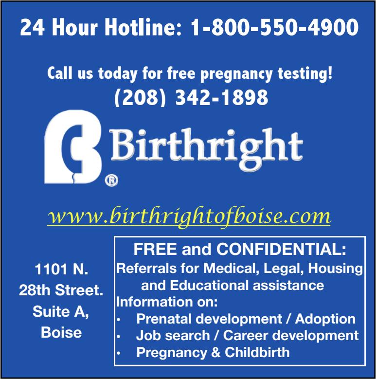 Birthright Pregnancy Recourse Center